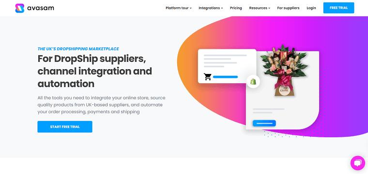 Avasam Homepage - DSers