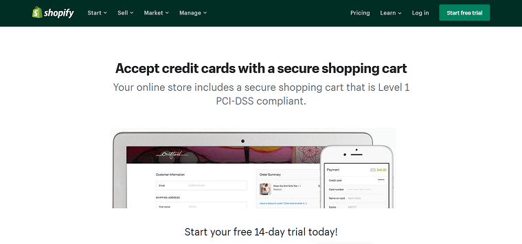 Shopify Shopping Cart - DSers