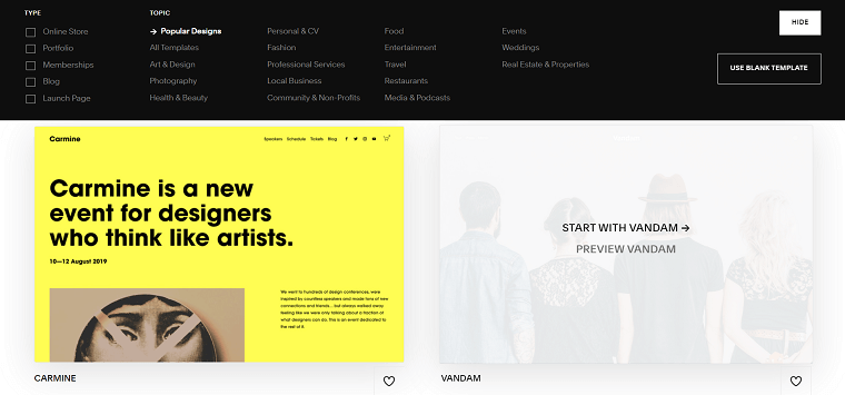 Squarespace Themes - DSers