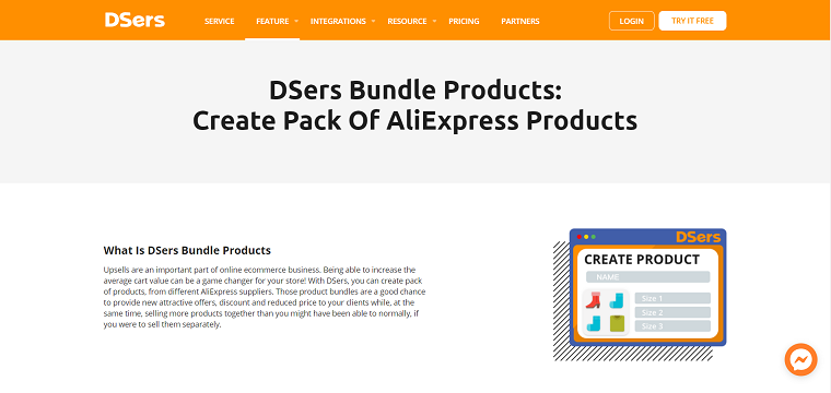DSers Bundle Products - DSers