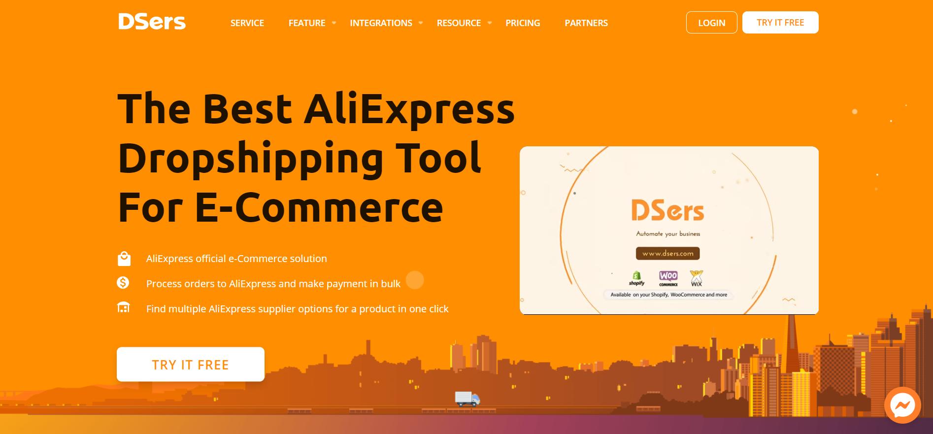DSers Homepage - DSers