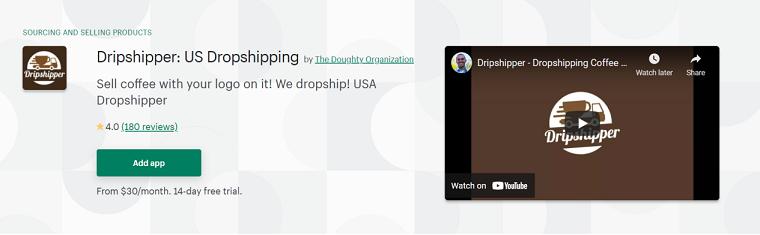 Dripshipper - Coffee dropshipping