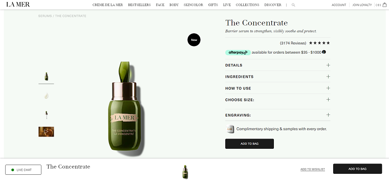 La Mer The Concentrate - DSers