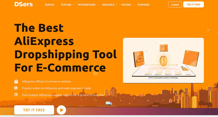 dropshipping tool - DSers