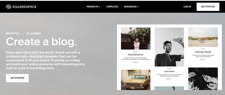 Squarespace Blogging