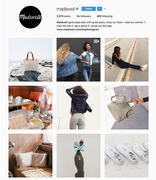 Instagram Content Page - DSers